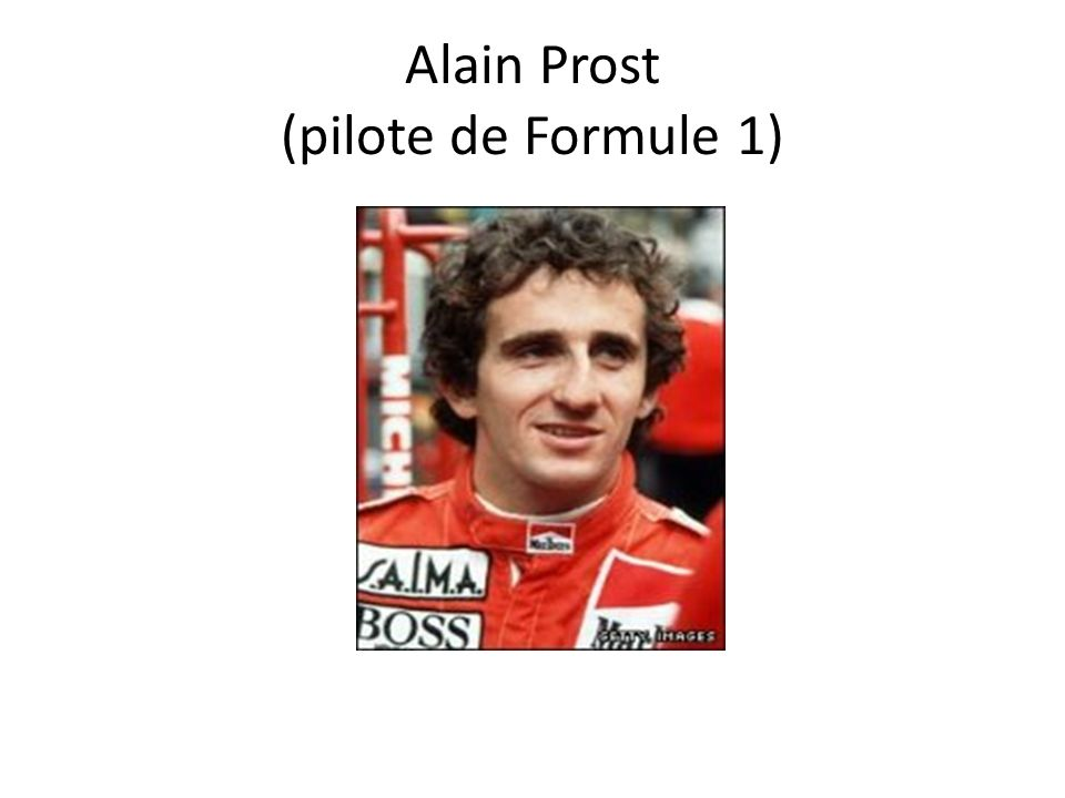 Alain Prost (pilote de Formule 1)