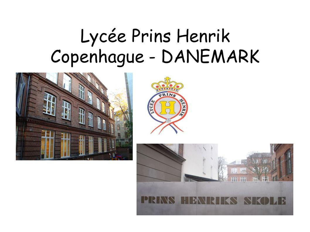 Lycée Prins Henrik Copenhague - DANEMARK
