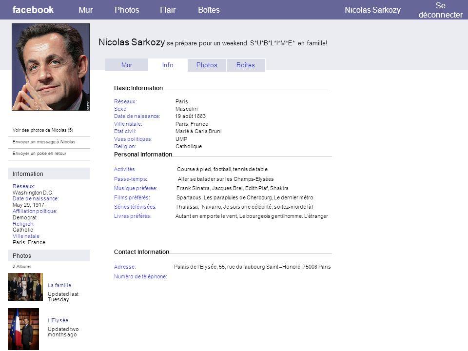 Nicolas Sarkozy se prépare pour un weekend S*U*B*L*I*M*E* en famille!