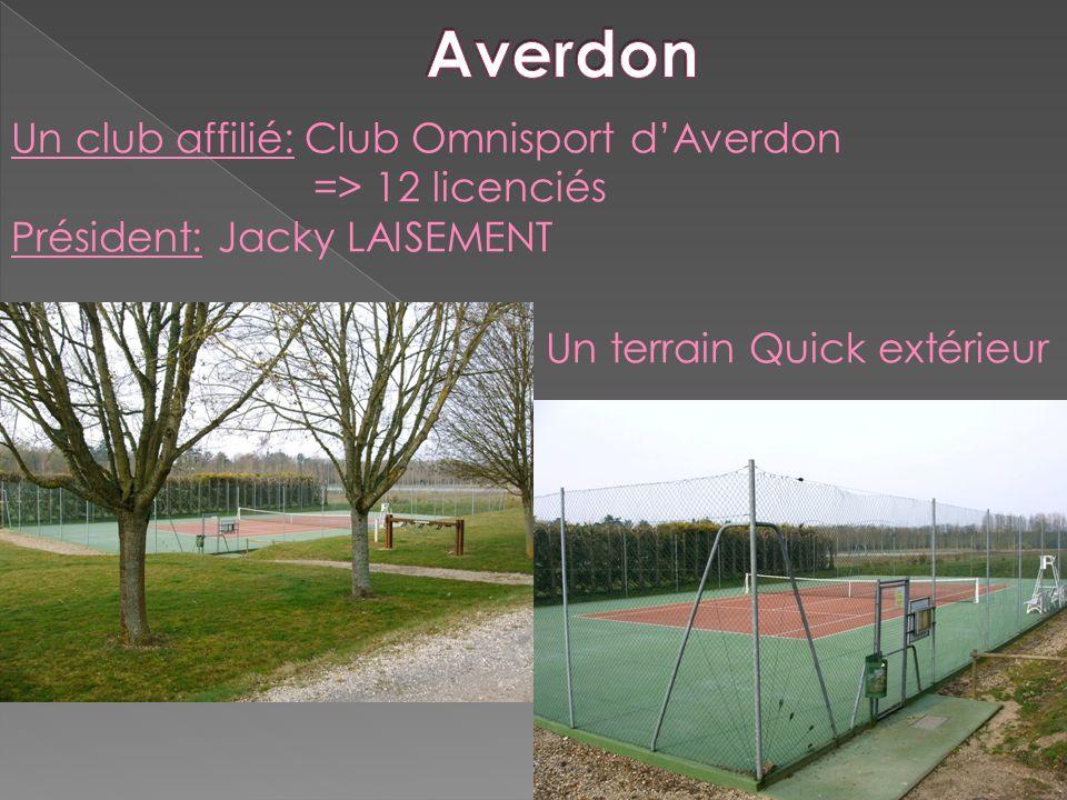 Averdon Un club affilié: Club Omnisport d'Averdon => 12 licenciés