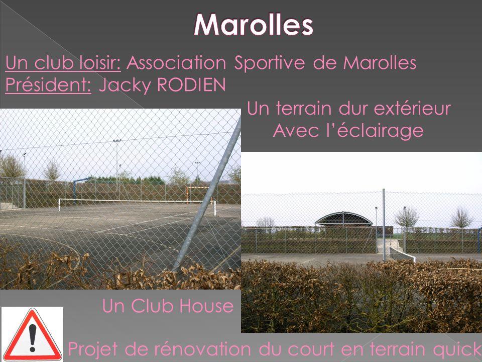 Marolles Un club loisir: Association Sportive de Marolles