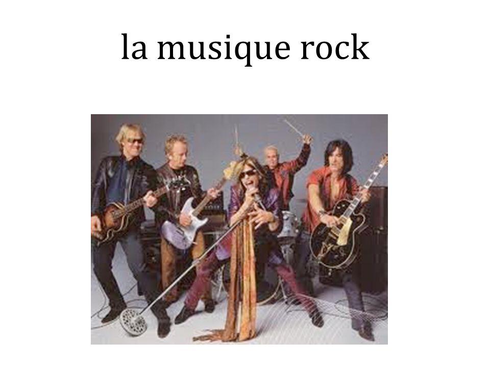 la musique rock
