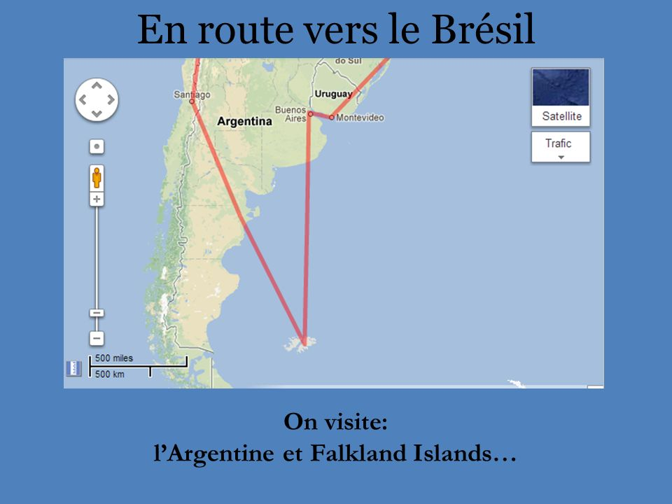 l'Argentine et Falkland Islands…