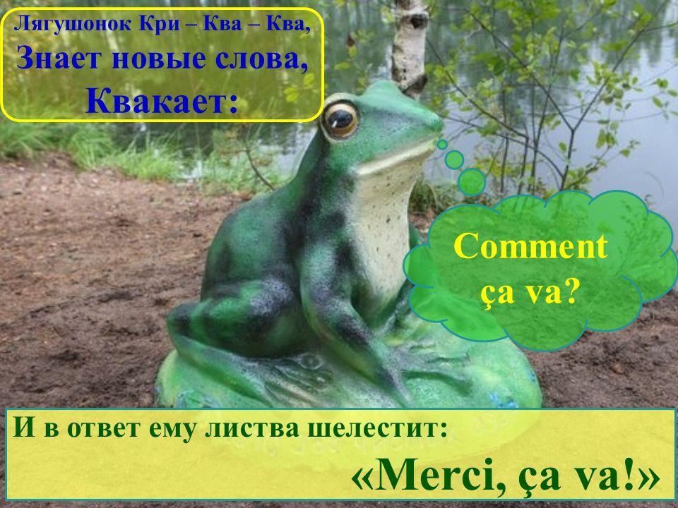 Лягушонок Кри – Ква – Ква,