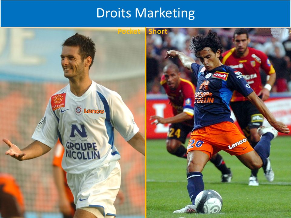 Droits Marketing Pocket Short