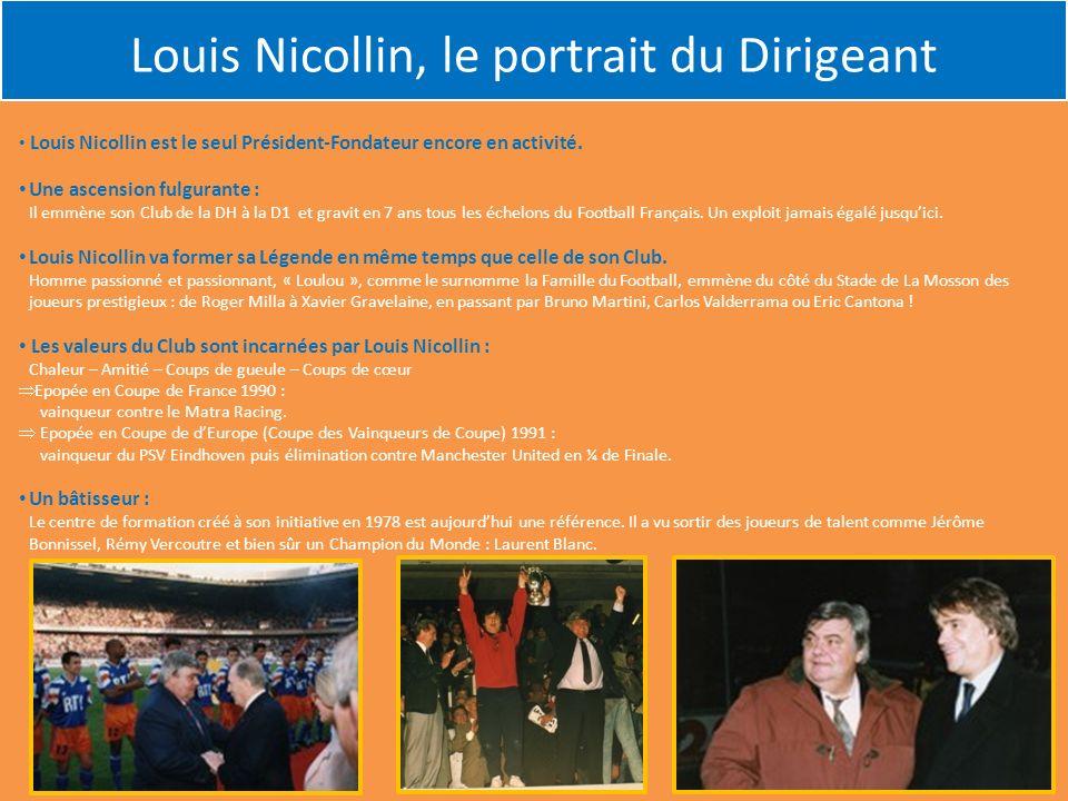 Louis Nicollin, le portrait du Dirigeant