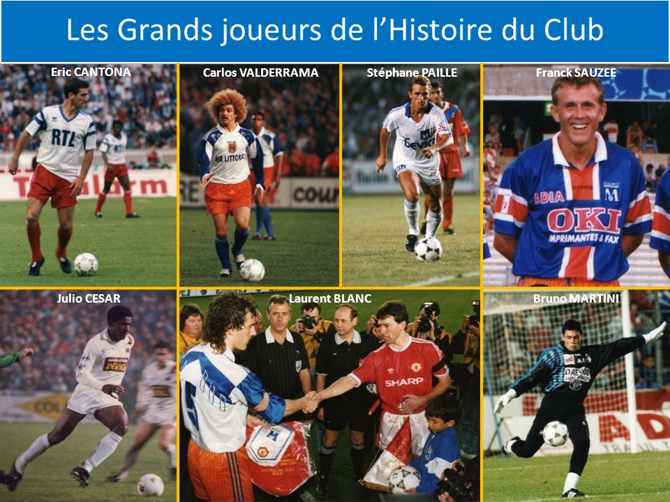 Les Grands joueurs de l'Histoire du Club