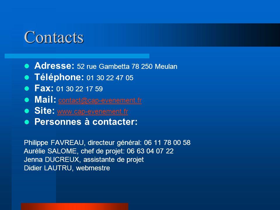 Contacts Adresse: 52 rue Gambetta 78 250 Meulan