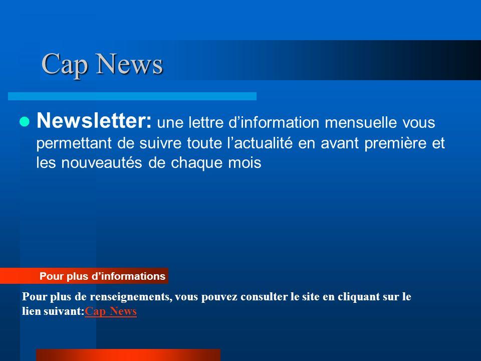 Cap News