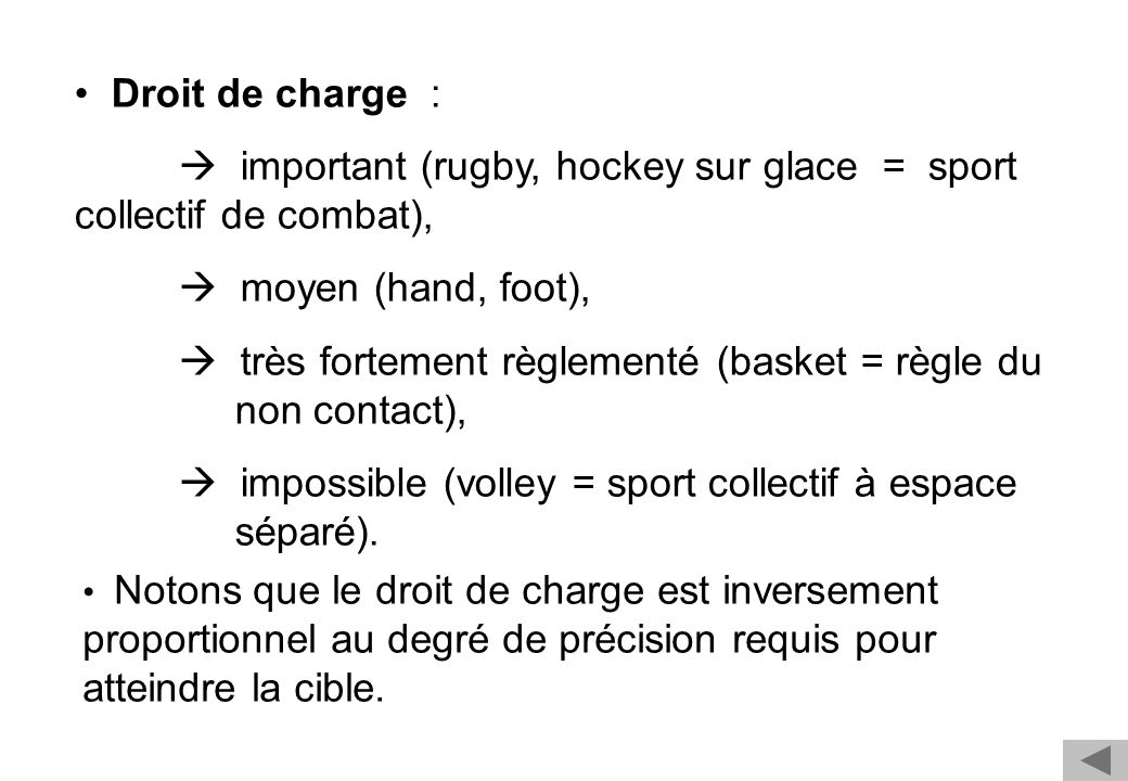  important (rugby, hockey sur glace = sport collectif de combat),