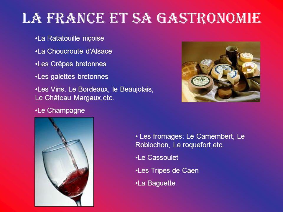 La France et sa gastronomie