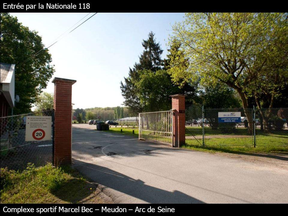 Entrée par la Nationale 118