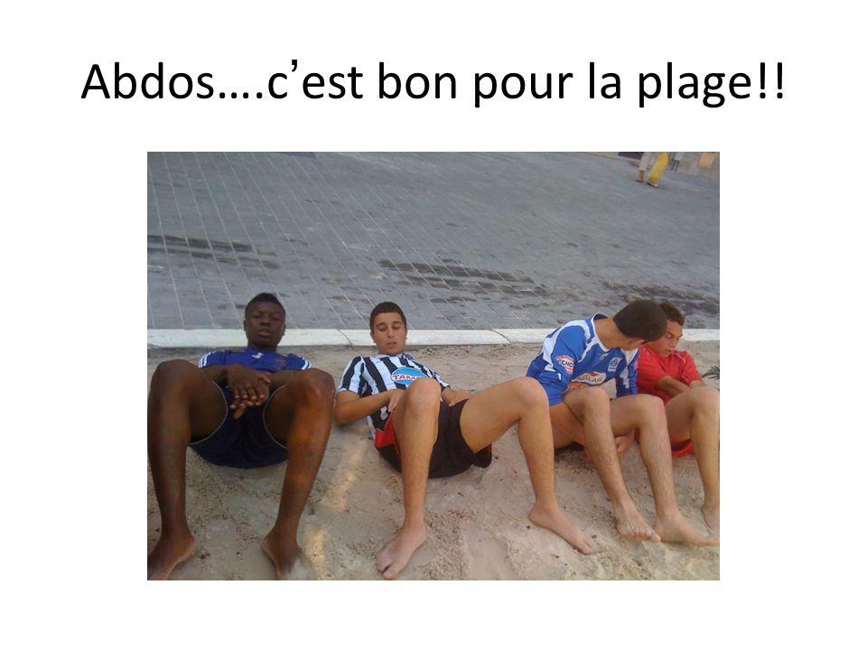 Abdos….c'est bon pour la plage!!