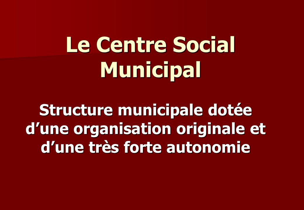 Le Centre Social Municipal