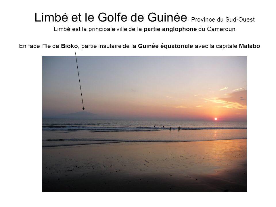 Limbé et le Golfe de Guinée Province du Sud-Ouest Limbé est la principale ville de la partie anglophone du Cameroun