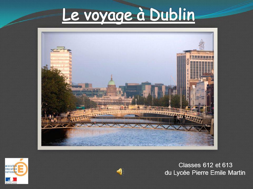Le voyage à Dublin Classes 612 et 613 du Lycée Pierre Emile Martin