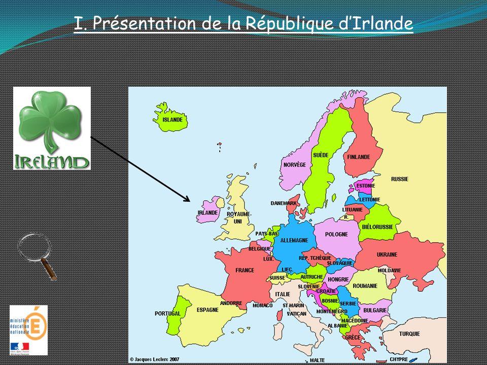 I. Présentation de la République d'Irlande