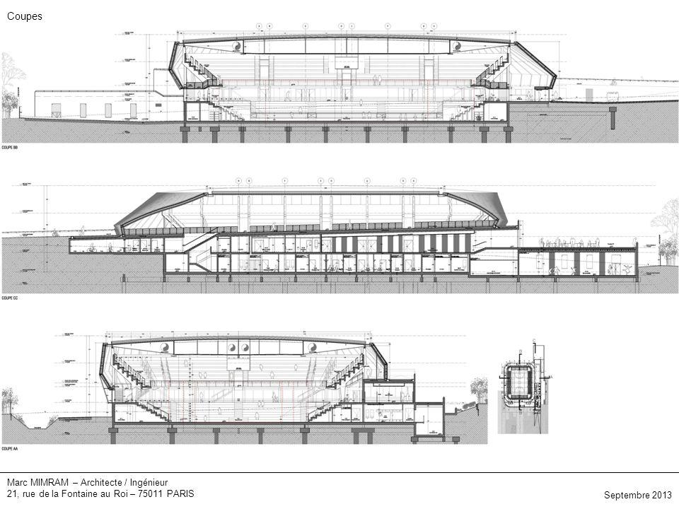 Elévations Coupes Marc MIMRAM – Architecte / Ingénieur