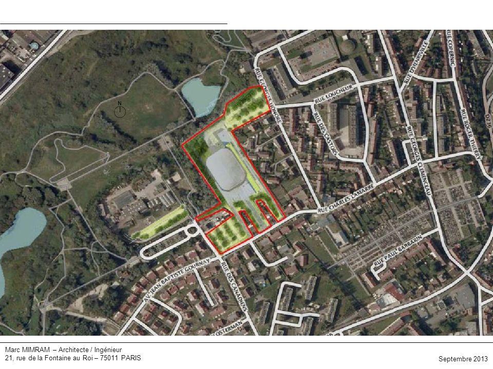Plan masse Marc MIMRAM – Architecte / Ingénieur
