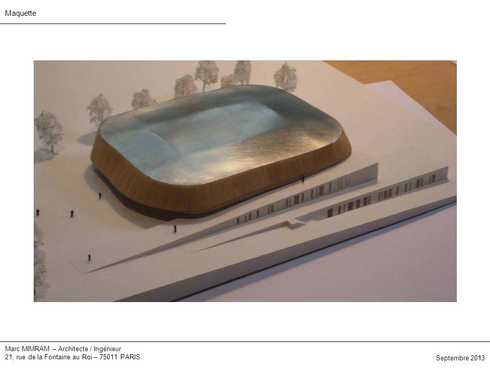 Maquette Marc MIMRAM – Architecte / Ingénieur