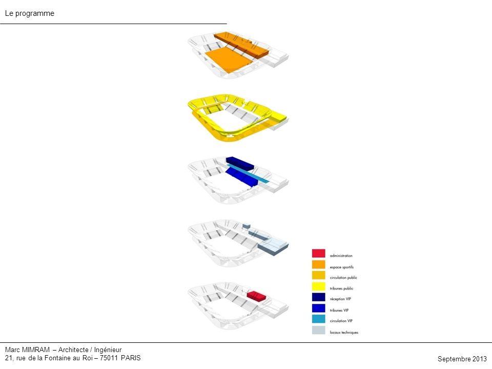 Le programme Marc MIMRAM – Architecte / Ingénieur
