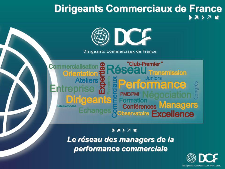 Le réseau des managers de la performance commerciale