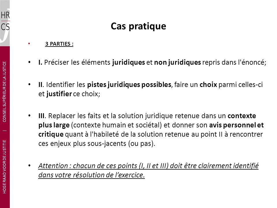 HOGE RAAD VOOR DE JUSTITIE | CONSEIL SUPÉRIEUR DE LA JUSTICE