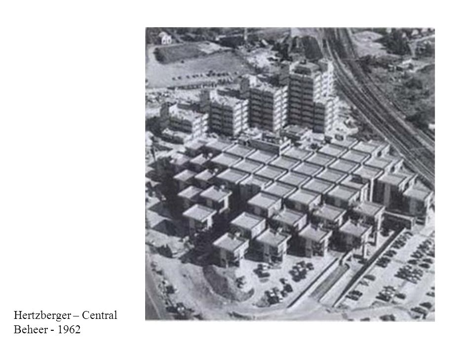 Hertzberger – Central Beheer - 1962