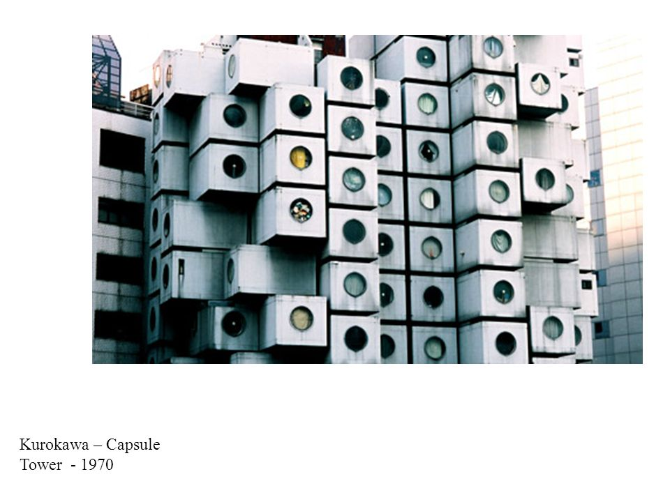 Kurokawa – Capsule Tower - 1970