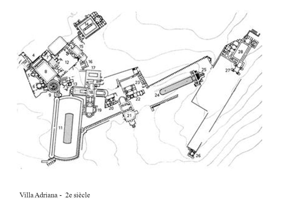 Villa Adriana - 2e siècle