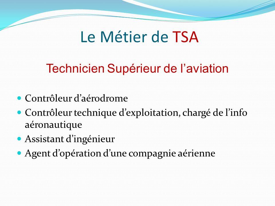 Technicien Supérieur de l'aviation