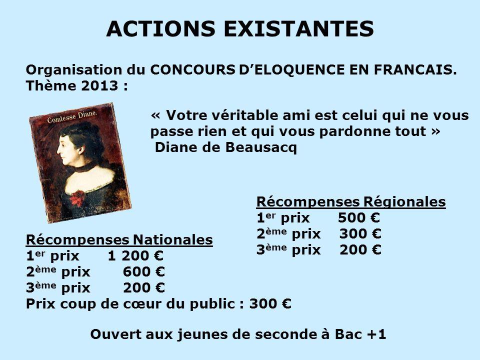 ACTIONS EXISTANTES VACANCES PLEIN AIR (V P A) CAMP FRANCO-ALLEMAND :