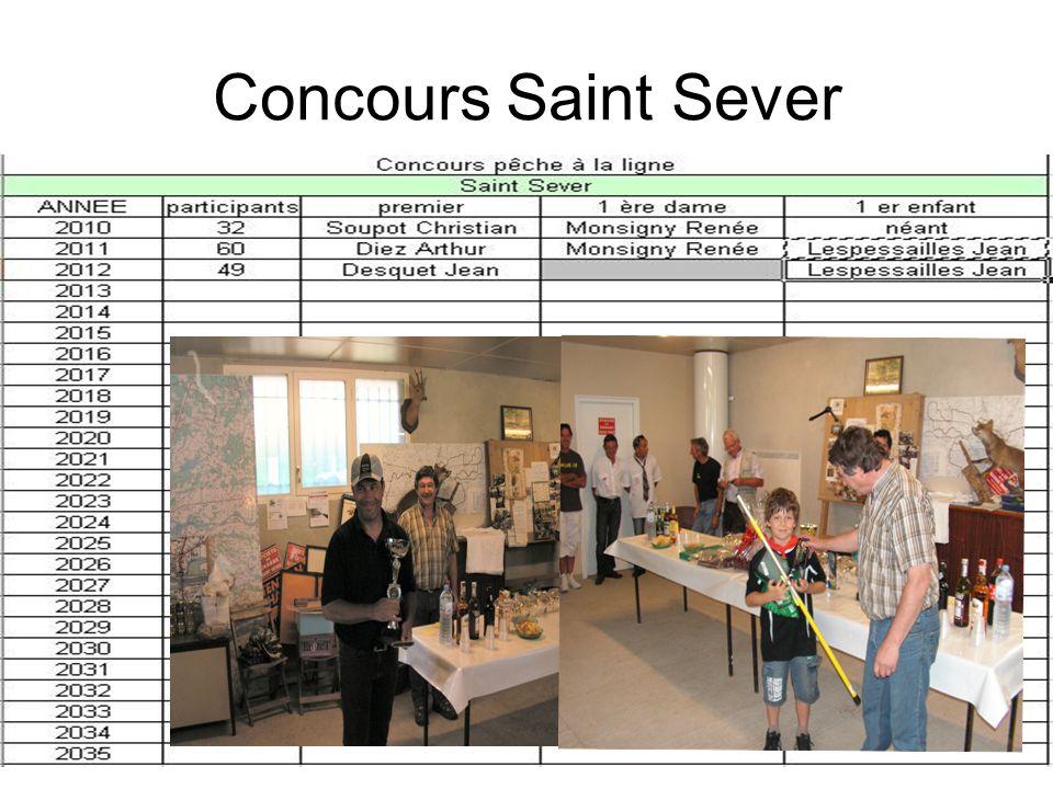 Concours Saint Sever