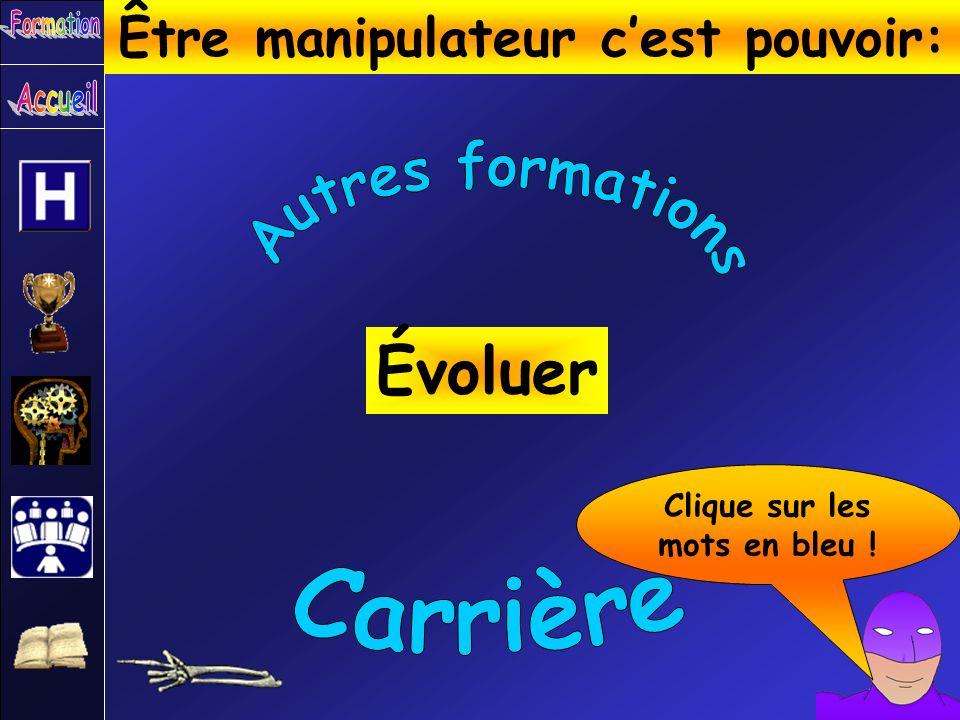 Être manipulateur c'est pouvoir: Clique sur les mots en bleu !