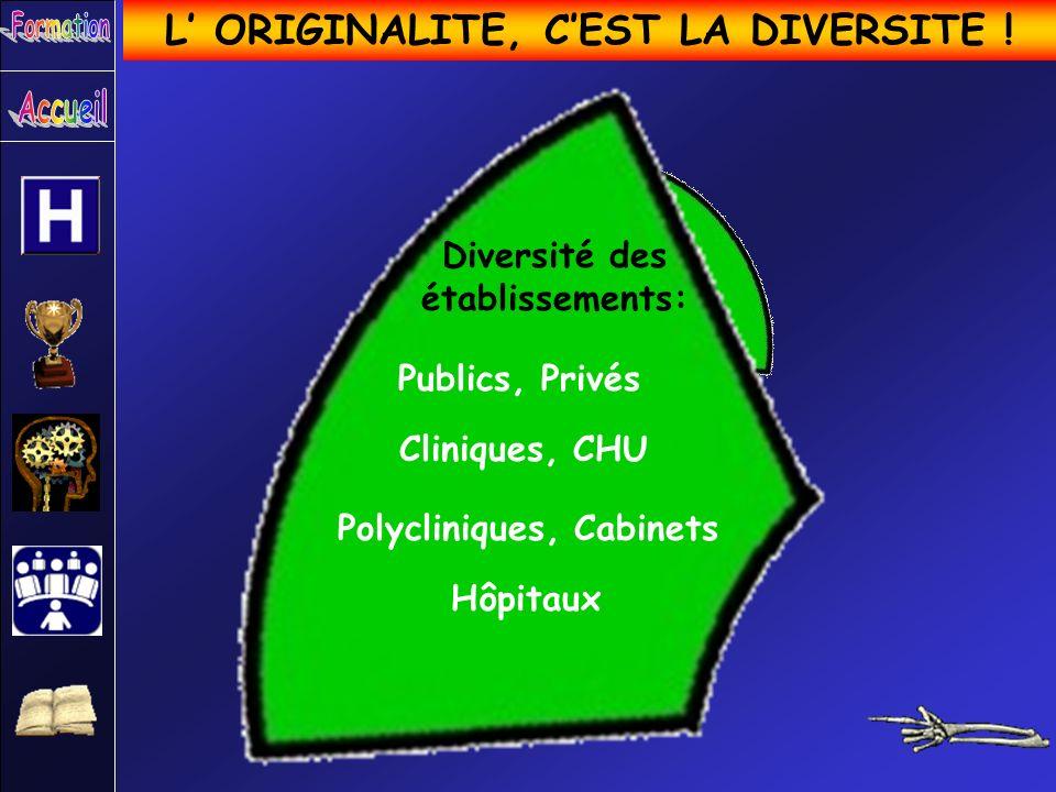 L' ORIGINALITE, C'EST LA DIVERSITE !
