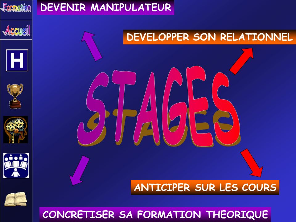 STAGES DEVENIR MANIPULATEUR DEVELOPPER SON RELATIONNEL