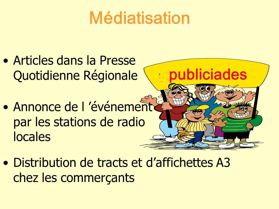 Médiatisation publiciades
