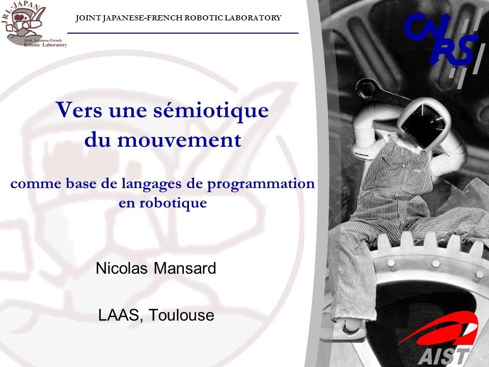 Nicolas Mansard LAAS, Toulouse