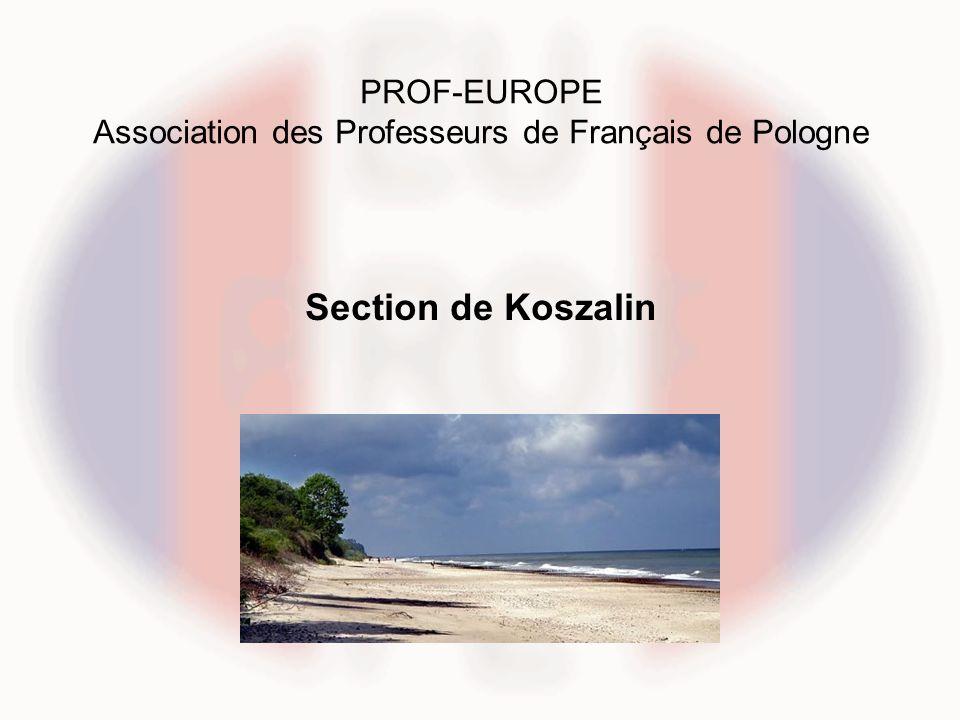 PROF-EUROPE Association des Professeurs de Français de Pologne