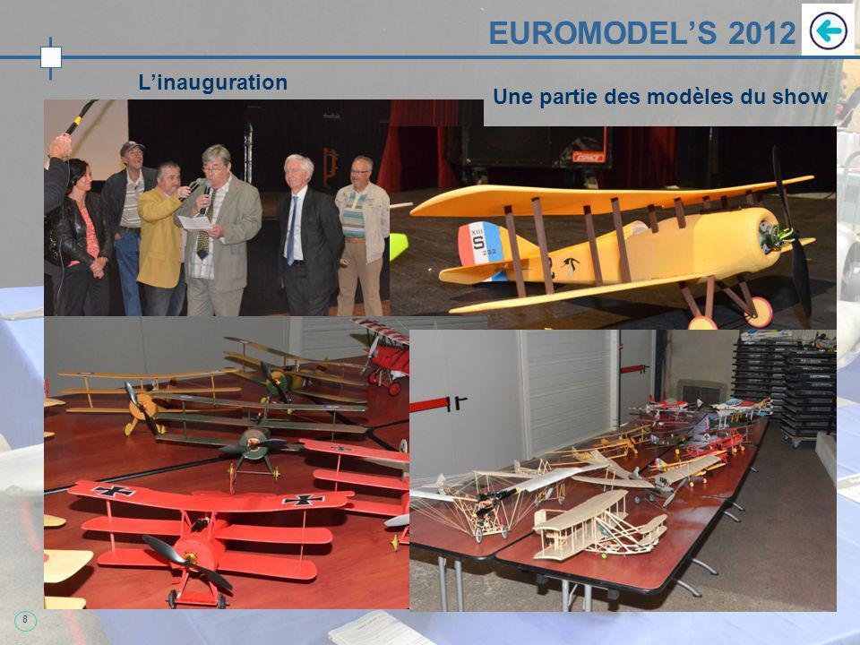 EUROMODEL'S 2012 Quelques modèles impressionnants