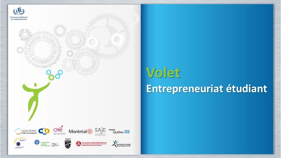 Volet Entrepreneuriat étudiant