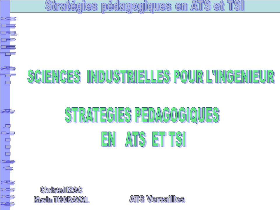 ATS Versailles SCIENCES INDUSTRIELLES POUR L INGENIEUR