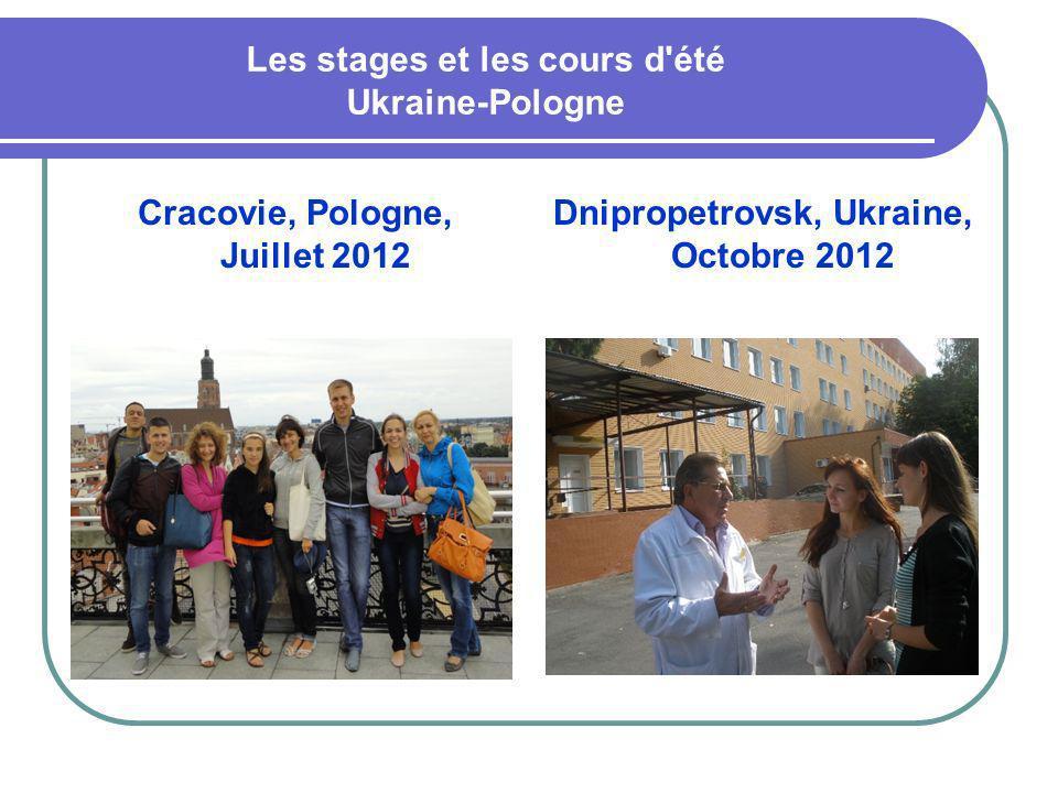 Les stages et les cours d été Ukraine-Pologne