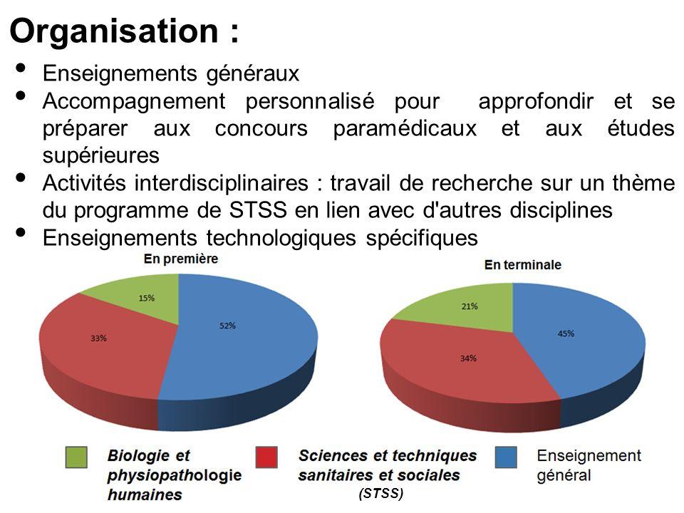 Organisation : Enseignements généraux