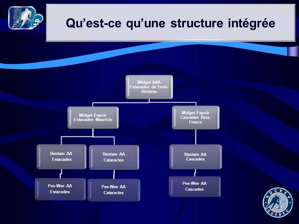 Qu'est-ce qu'une structure intégrée