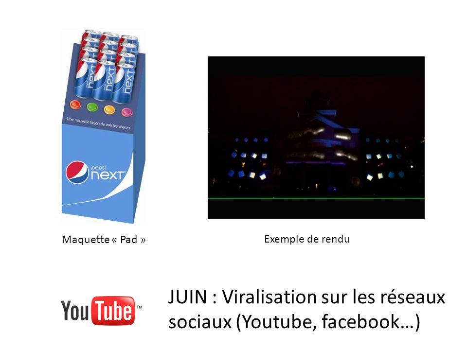 JUIN : Viralisation sur les réseaux sociaux (Youtube, facebook…)