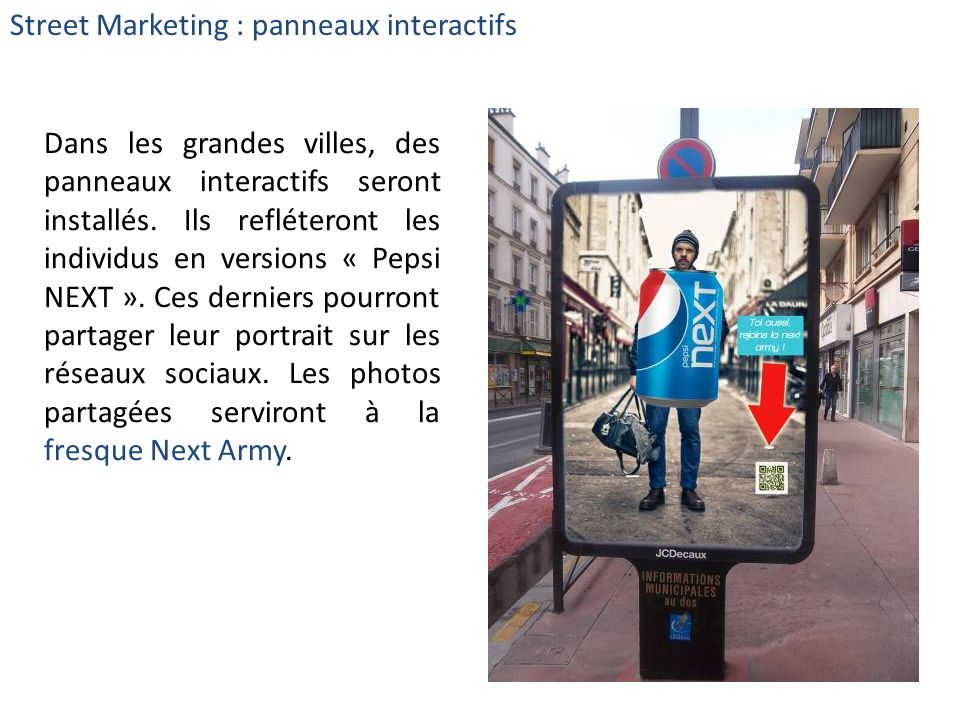 Street Marketing : panneaux interactifs