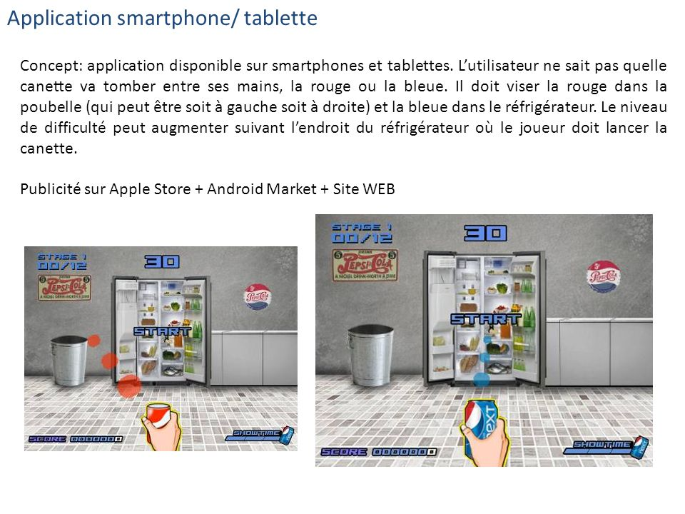 Application smartphone/ tablette