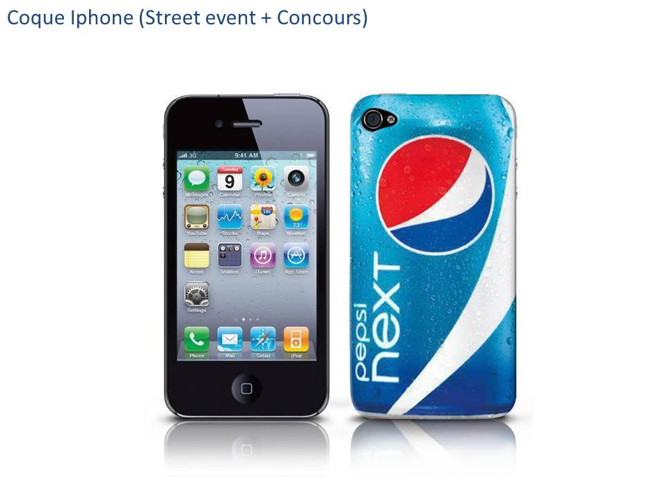 Coque Iphone (Street event + Concours)