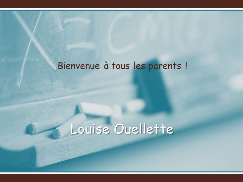 Bienvenue à tous les parents !